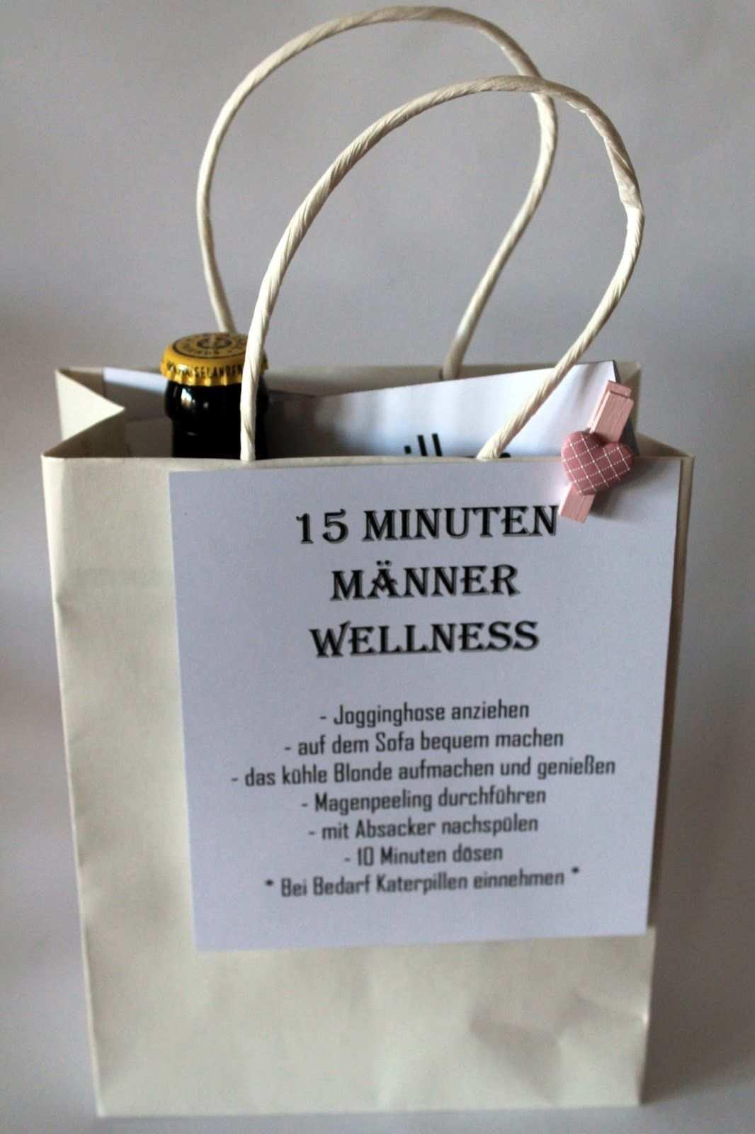 Diy 15 Minuten Manner Wellness Die Perfekte Geschenkidee Fur Manner Geschenkideen Wellness Geschenke Geschenke