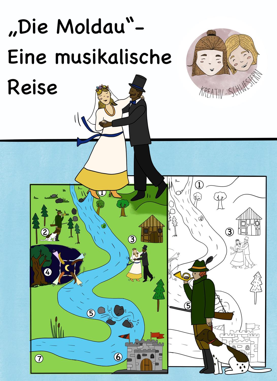 Musik Grundschule Sek 1 Die Moldau Eine Musikalische Reise Musik In Corona Zeiten Unterrichtsmaterial Im Fach Musik Die Moldau Musikalisch Musik