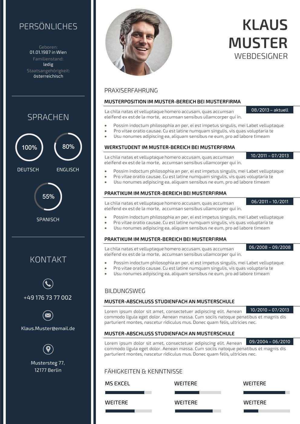 Premium Bewerbungsmuster 3 Lebenslauf Designs Vorlagen Lebenslauf Lebenslauf Design Kreativer Lebenslauf