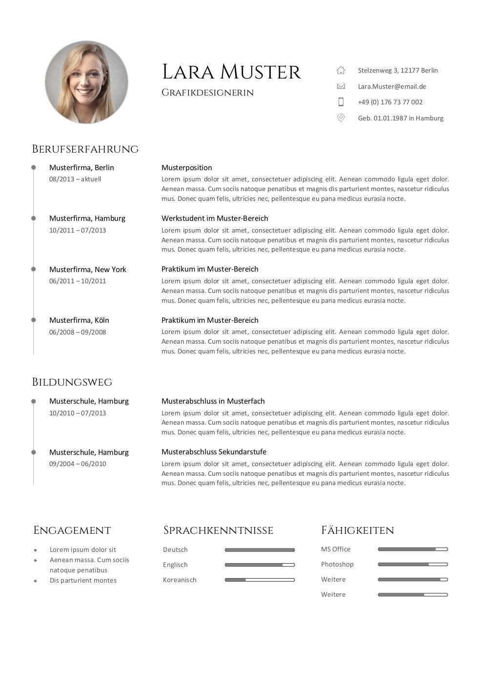 Bewerbung Muster Vorlagen Kostenlos Zum Download Vorlagen Lebenslauf Bewerbung Lebenslauf Bewerbung Lebenslauf Vorlage