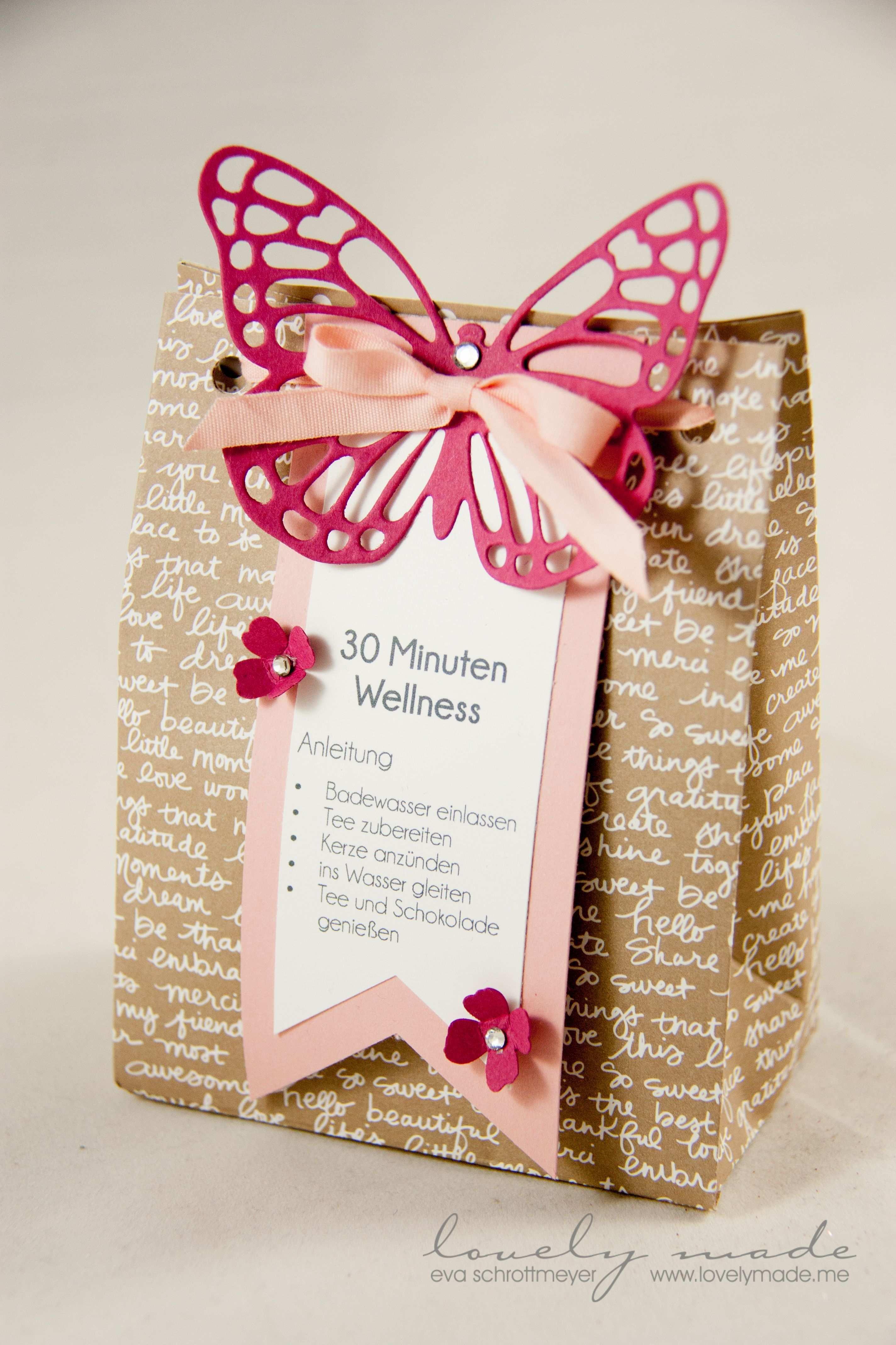 30 Minuten Wellness Tute Geschenkideen Geschenke Basteln Geschenke