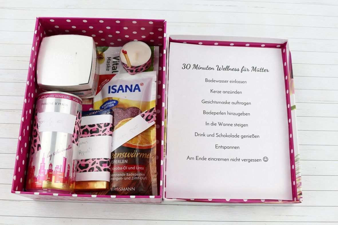 Schone Diy Geschenkidee Fur Frauen Wellness Paket Wellness Paket Wellness Geschenke Werdende Mutter Geschenk