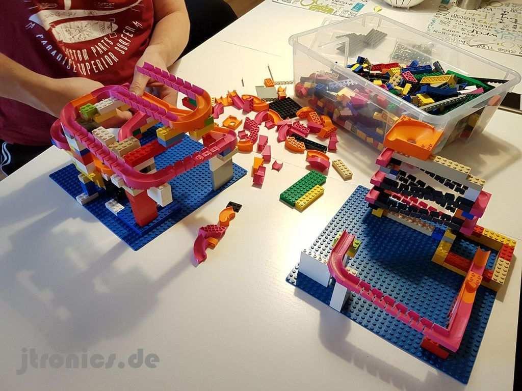 Pin Auf Lego Marble Run Kugelbahn
