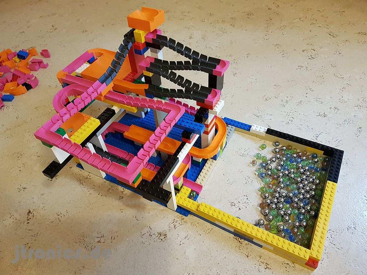 Marble Run Building Brick Set Basic Pinshape Marble Run Lego Projects Building Blocks