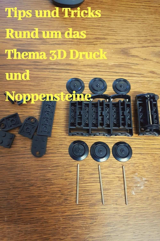 Noppensteine Aus Dem 3d Drucker Screwdriver