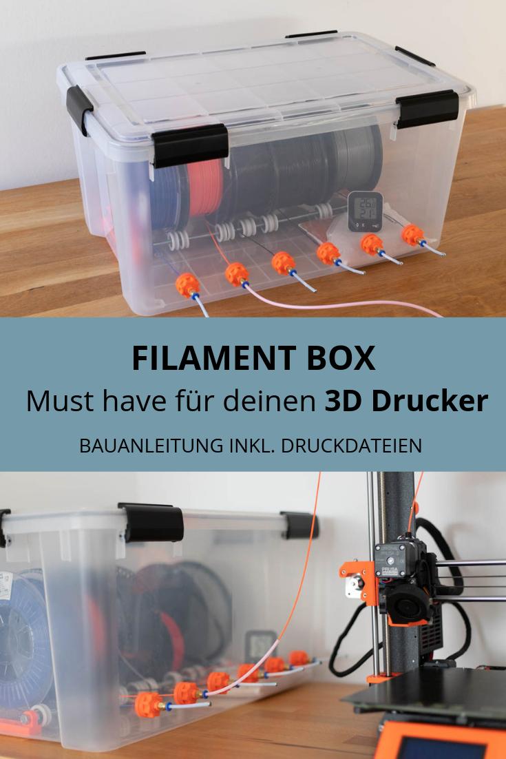 Filament Box Fur 3d Drucker Bauen 3d Drucker 3d Drucker Vorlagen 3d Drucker Projekte