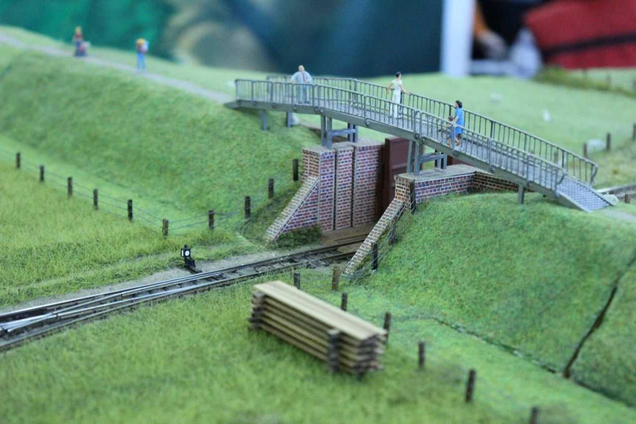 H0m Inselbahn Spiekeroog Modellbahn Modellbahn Modelleisenbahn Anordnung Modell