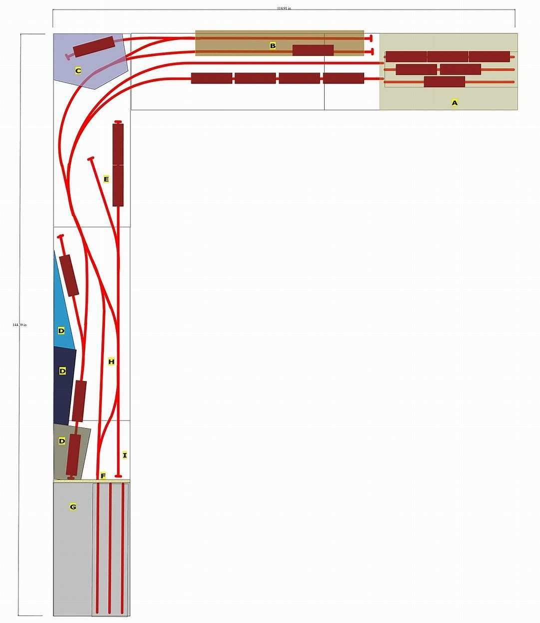 Image Result For Ho Shelf Plan Train Layouts Train Layouts Model Trains Train