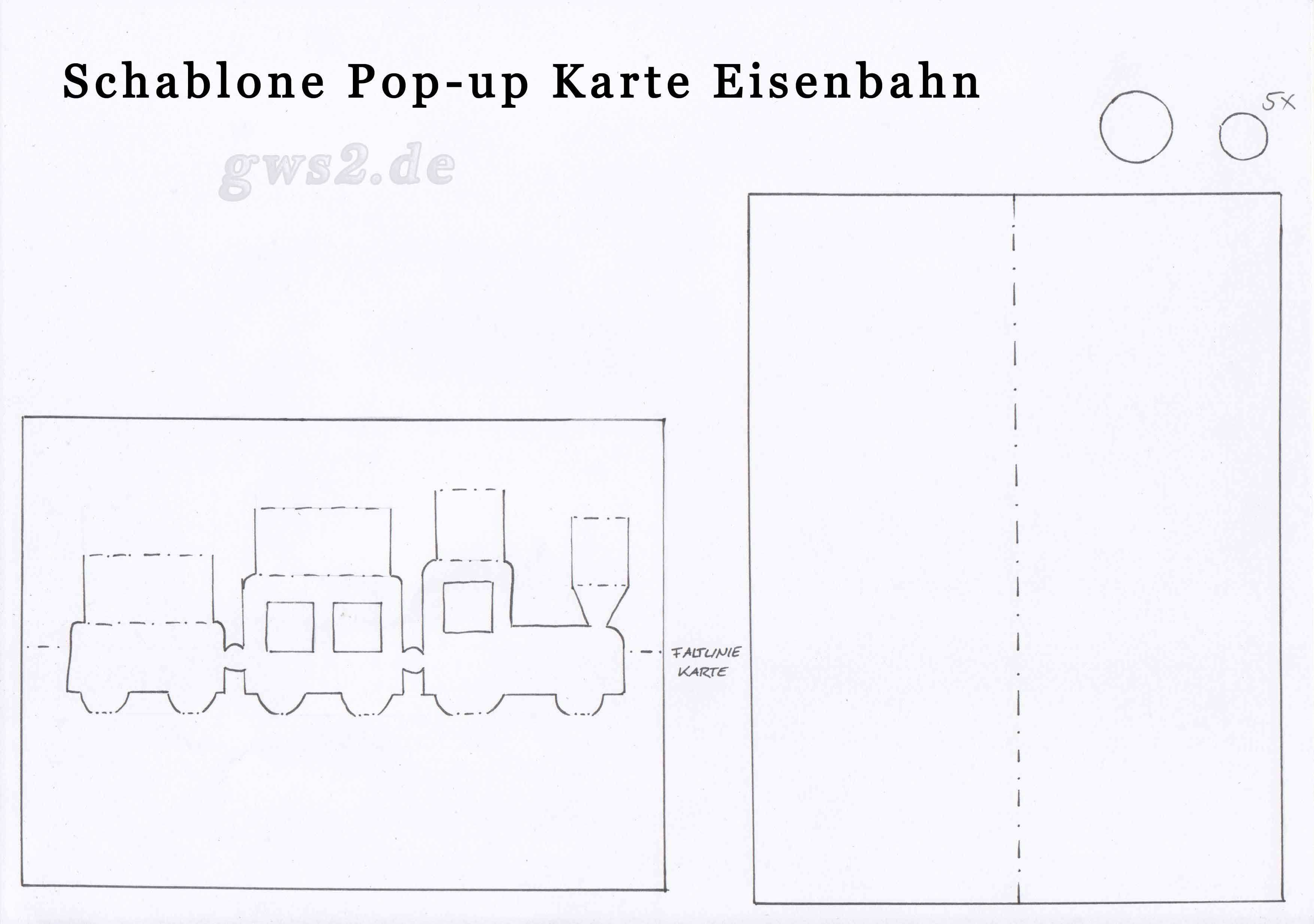 Pop Up Zug Anleitung Kinder Basteln Diy Geschenke Basteln Pop Up Karten Vorlagen Geschenke Basteln