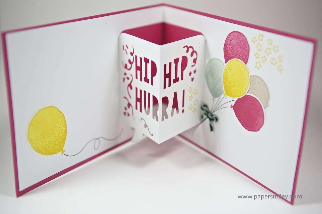 3d Geburtstagskarte Mit Material Von Stampin Up Geburtstagskarte Diy Karten Basteln Geburtstagskarte Basteln Mutter