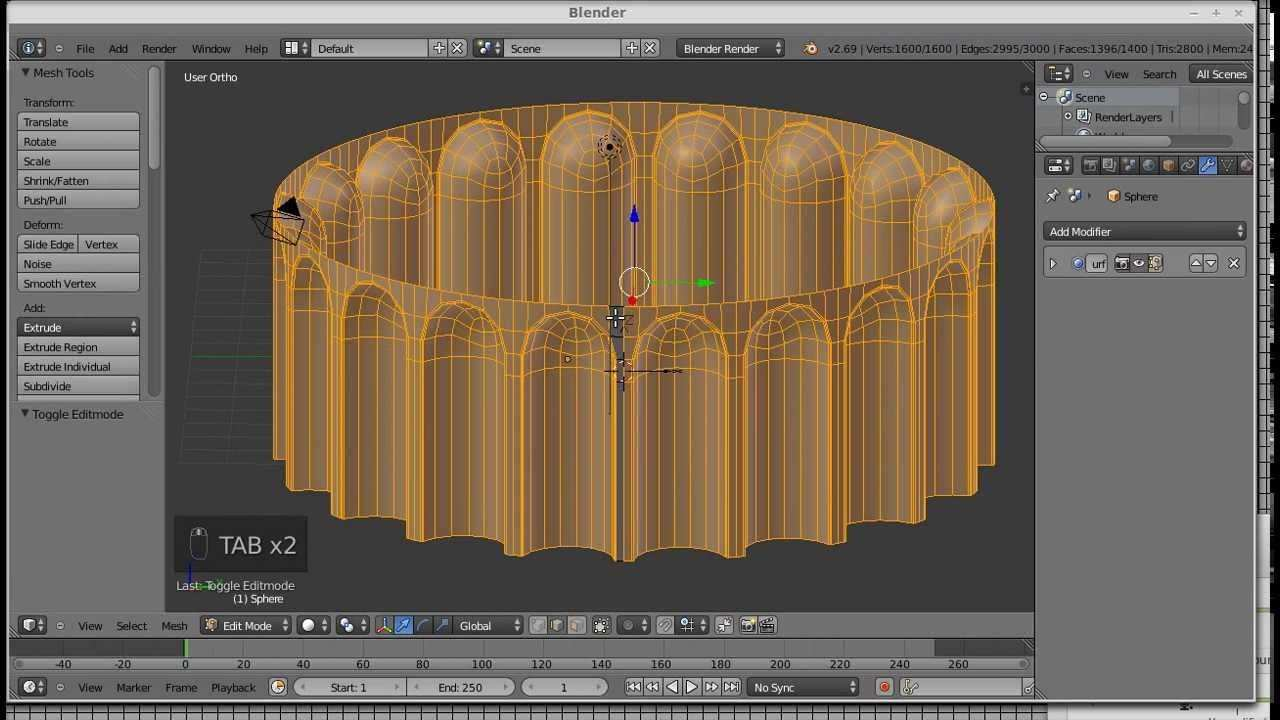 Blender Subd Modeling Exercise 7 Blender 3d Blender Tutorial 3d Tutorial