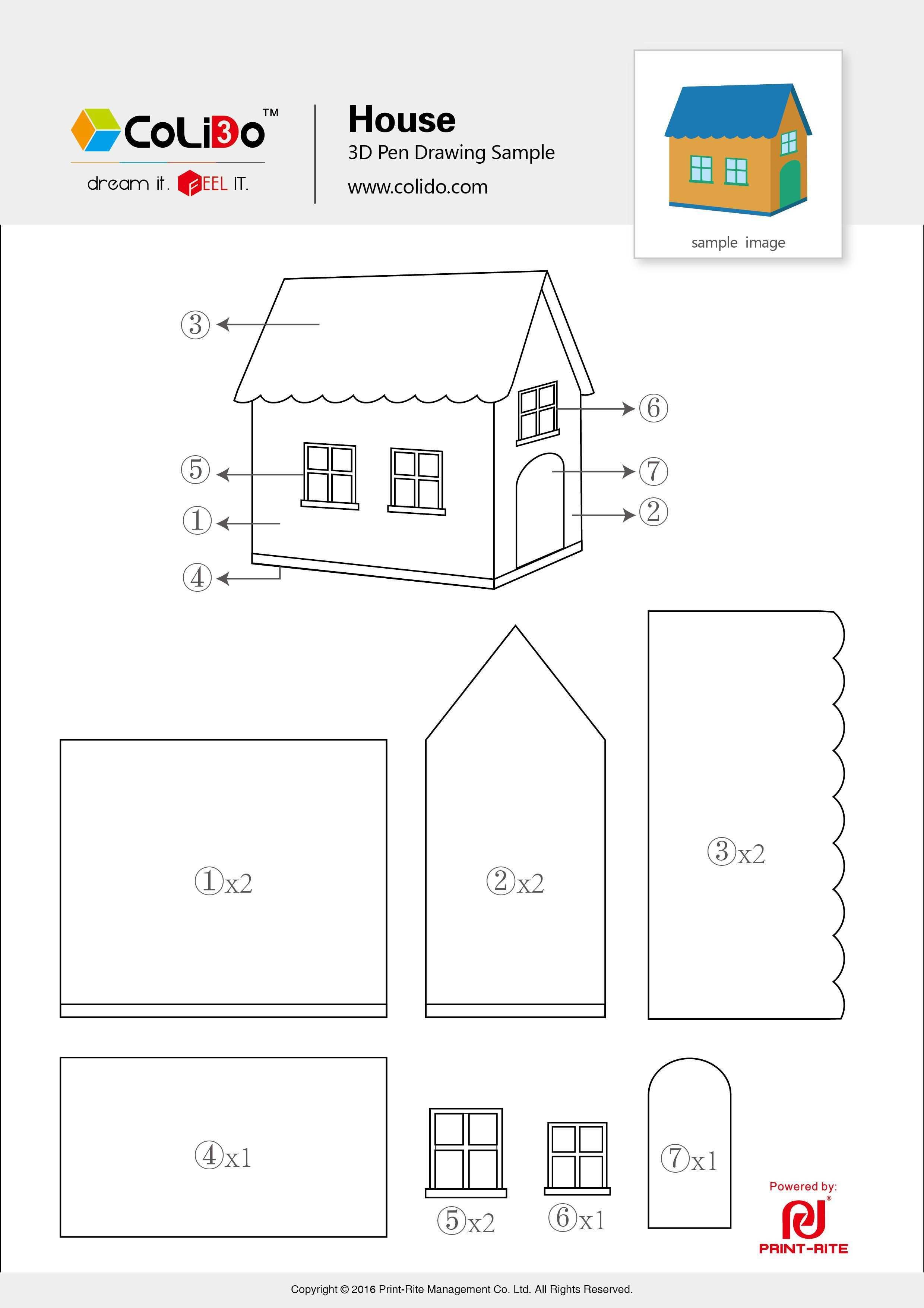 Stencils For 3d Pen Colido 3d Printer Official Website 3d Pen Stencils 3d Drawing Pen 3d Pen