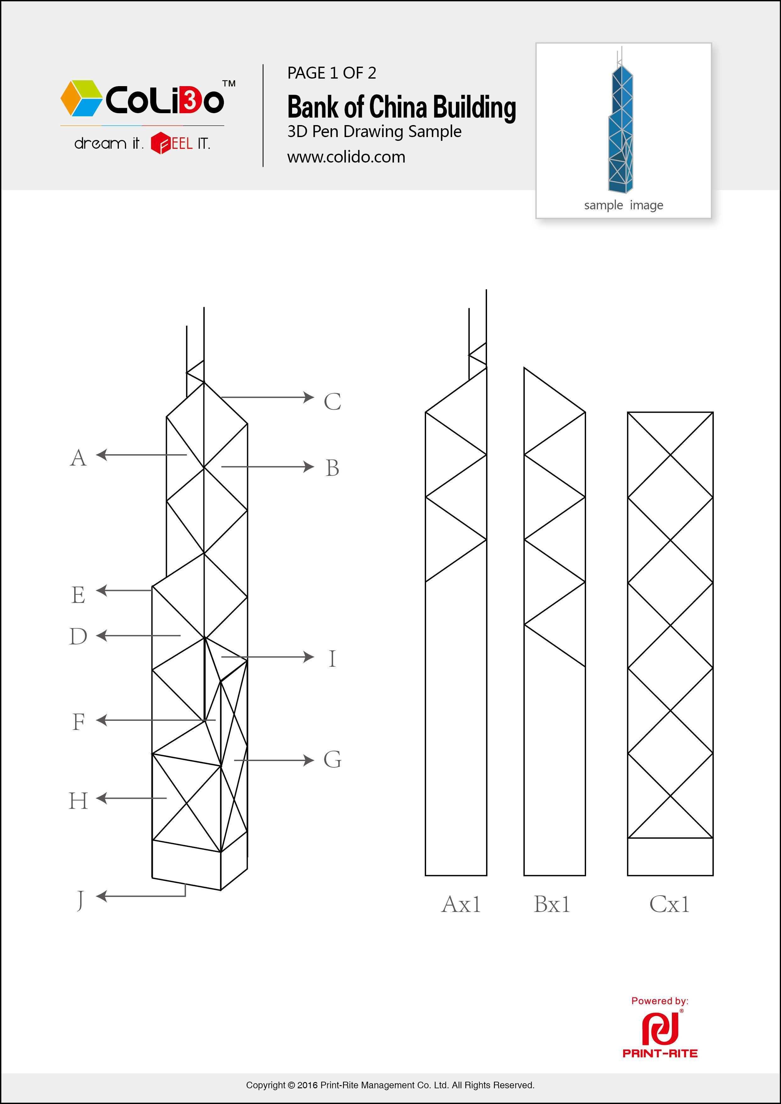 Colido 3d Pen Lt Print Rite A J Limited 3d Pen Stencils 3d Pen Pen Design