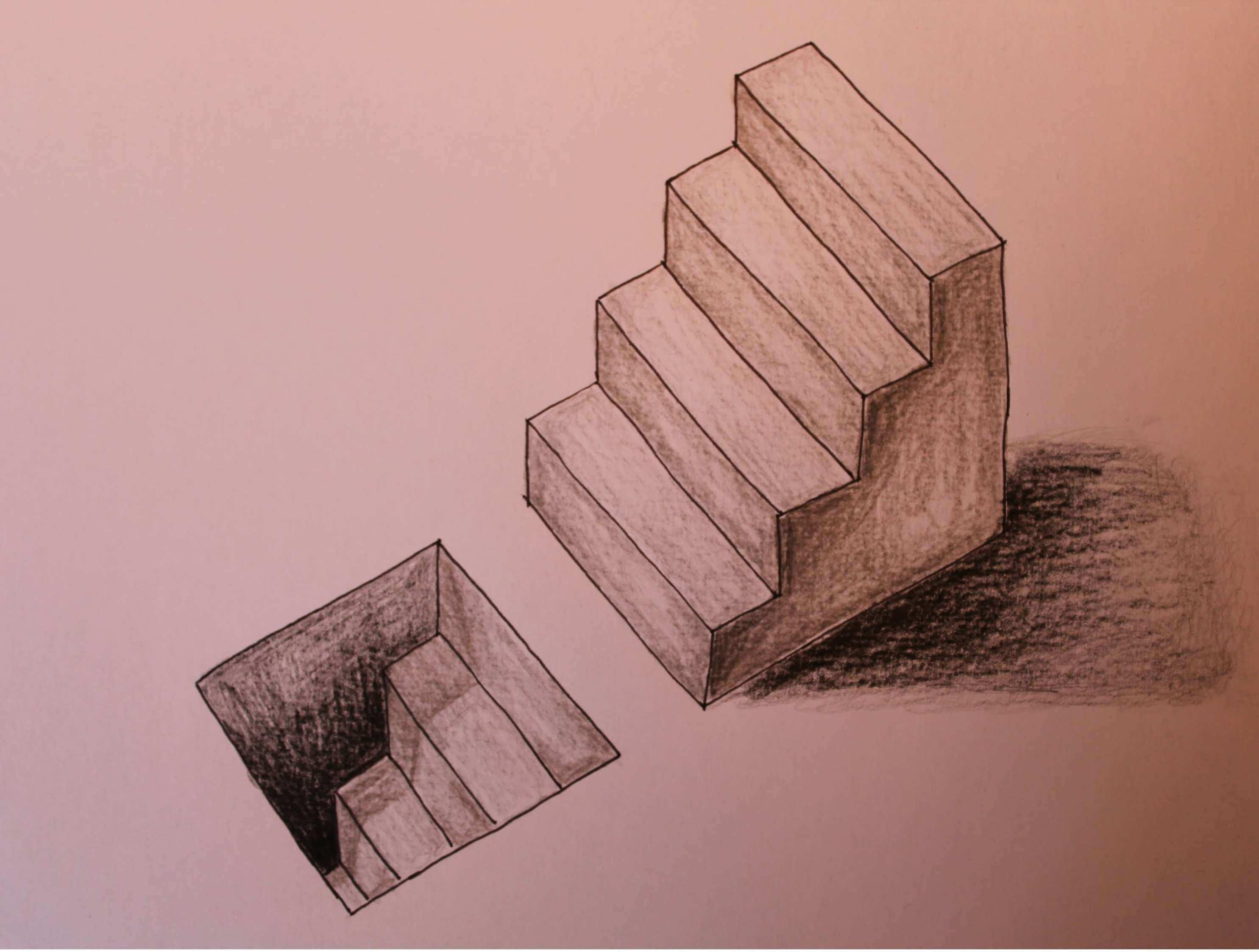 3d Raum Zeichnen Im Hinblick Auf Optische Illusion Treppe In 3d Youtube Raum Zeichnen Optische Illusionen Treppe Zeichnen