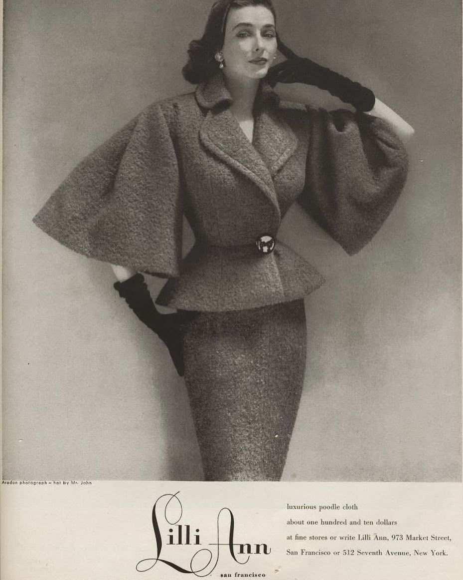 Happy Monday Circa 1950s Lillie Ann Retro Fashion Vintage Couture Vintage Suits