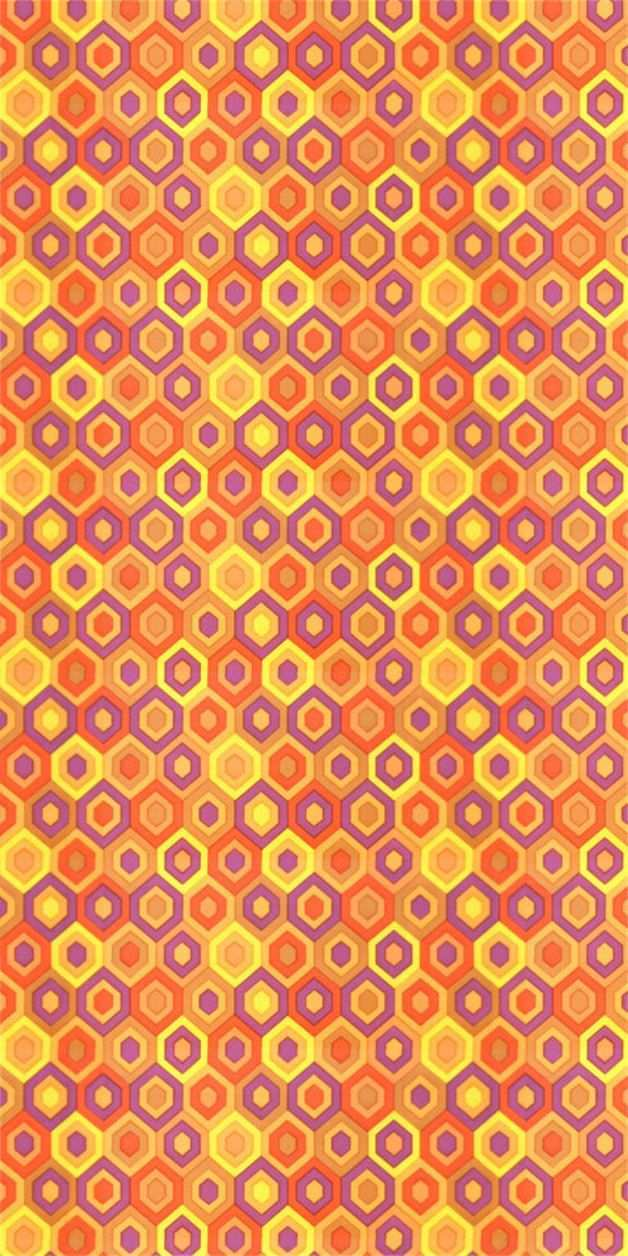 Vintage Tapeten 70er Tapete Origami Patterns Wallpapers Vintage Pattern Wallpaper
