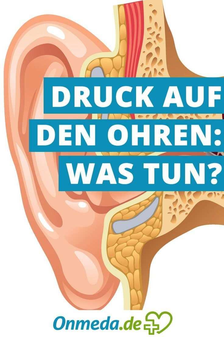 Druck Auf Den Ohren Ursachen Diagnose Behandlung Onmeda De Druck Auf Dem Ohr Mittelohrentzundung Mittelohrentzundung Hausmittel