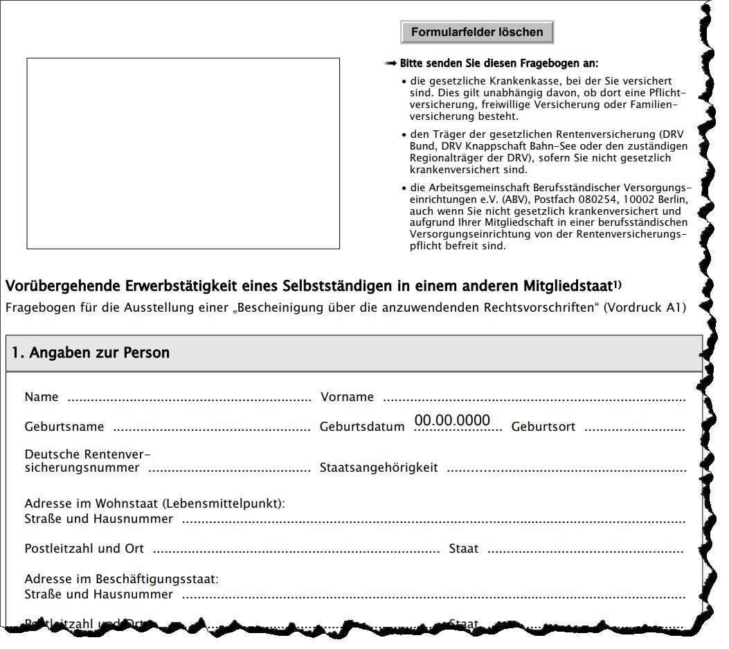 Lexware Lohn Dakota Meldebescheinigung A1 Als Verfahren Fur Deutsche Arbeitskrafte Bei Befristeter Entsendung Ins Eu Ewr Ausland