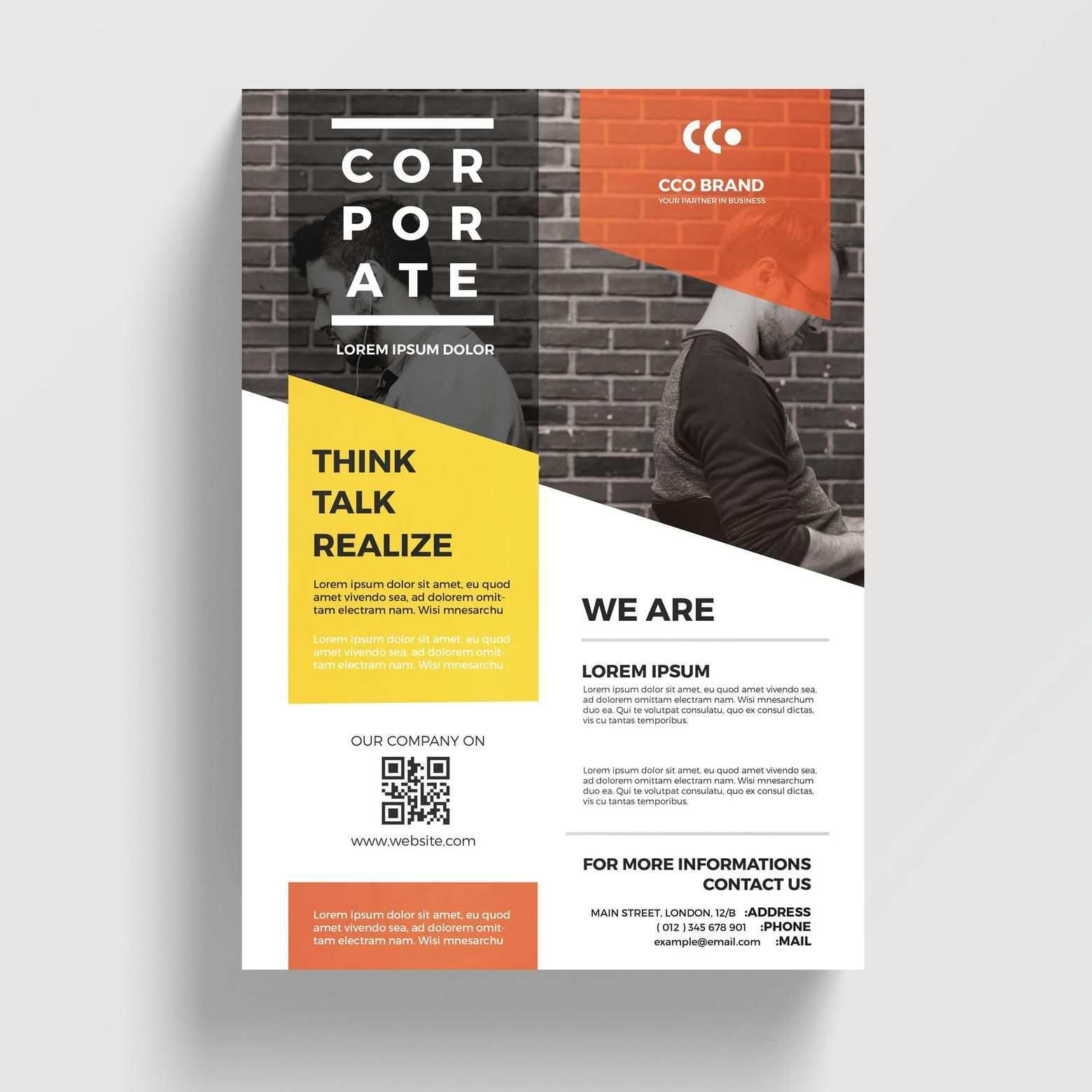 Business Flyer Graphic Design Flyer Business Flyer Templates Flyer Layout