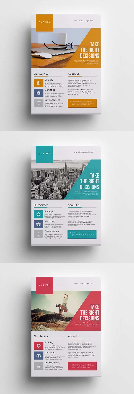 Creative And Minimalist Multipurpose Business Flyer Template Psd Brochure Design Flyer Design Brochure Design Inspiration