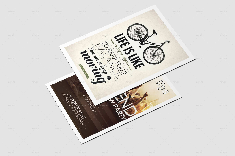 A6 Flyer Poster Mock Up Poster Mockup Flyer Mocking