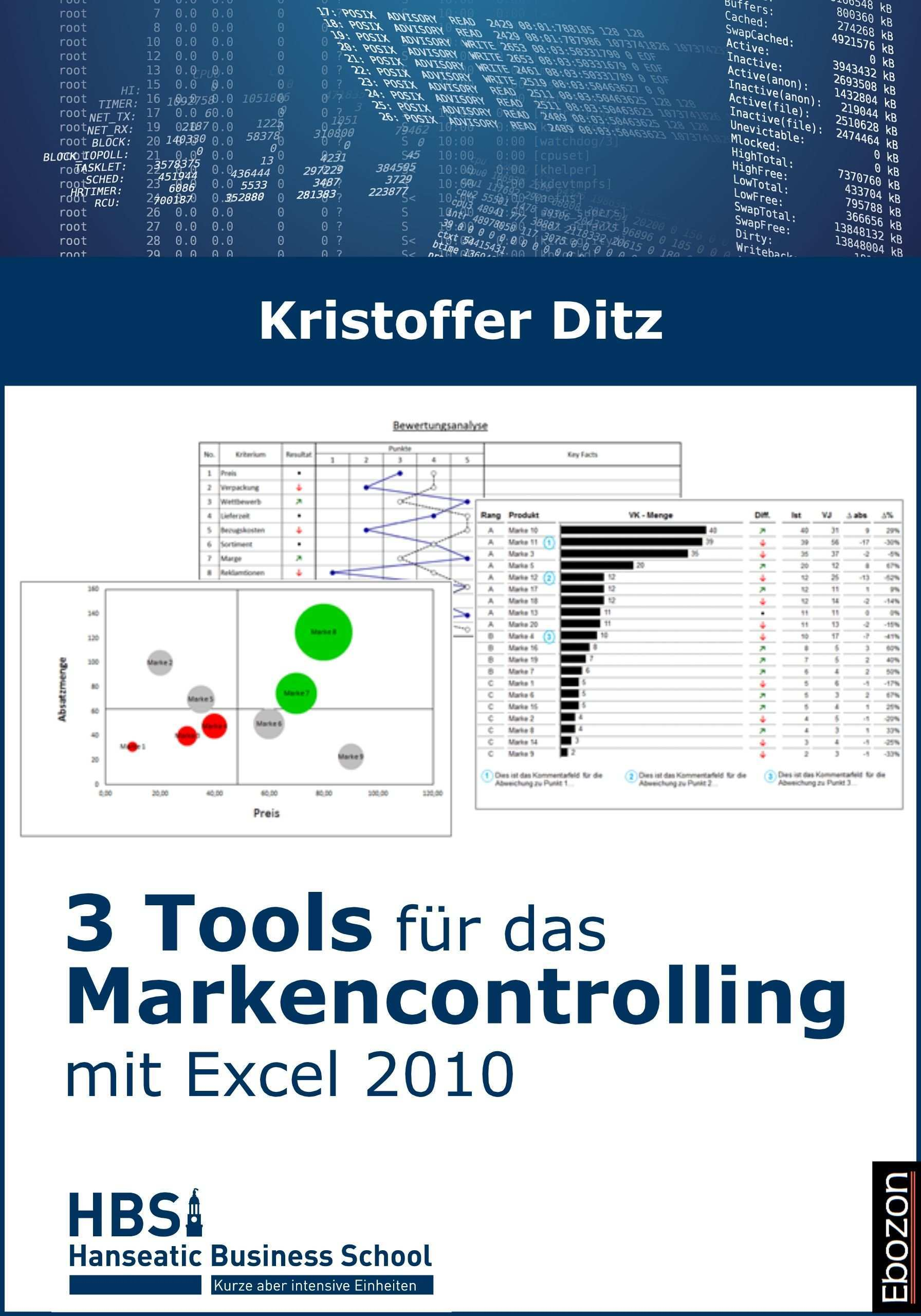 3 Tools Fur Das Markencontrolling Marken E Book Excel Vorlage