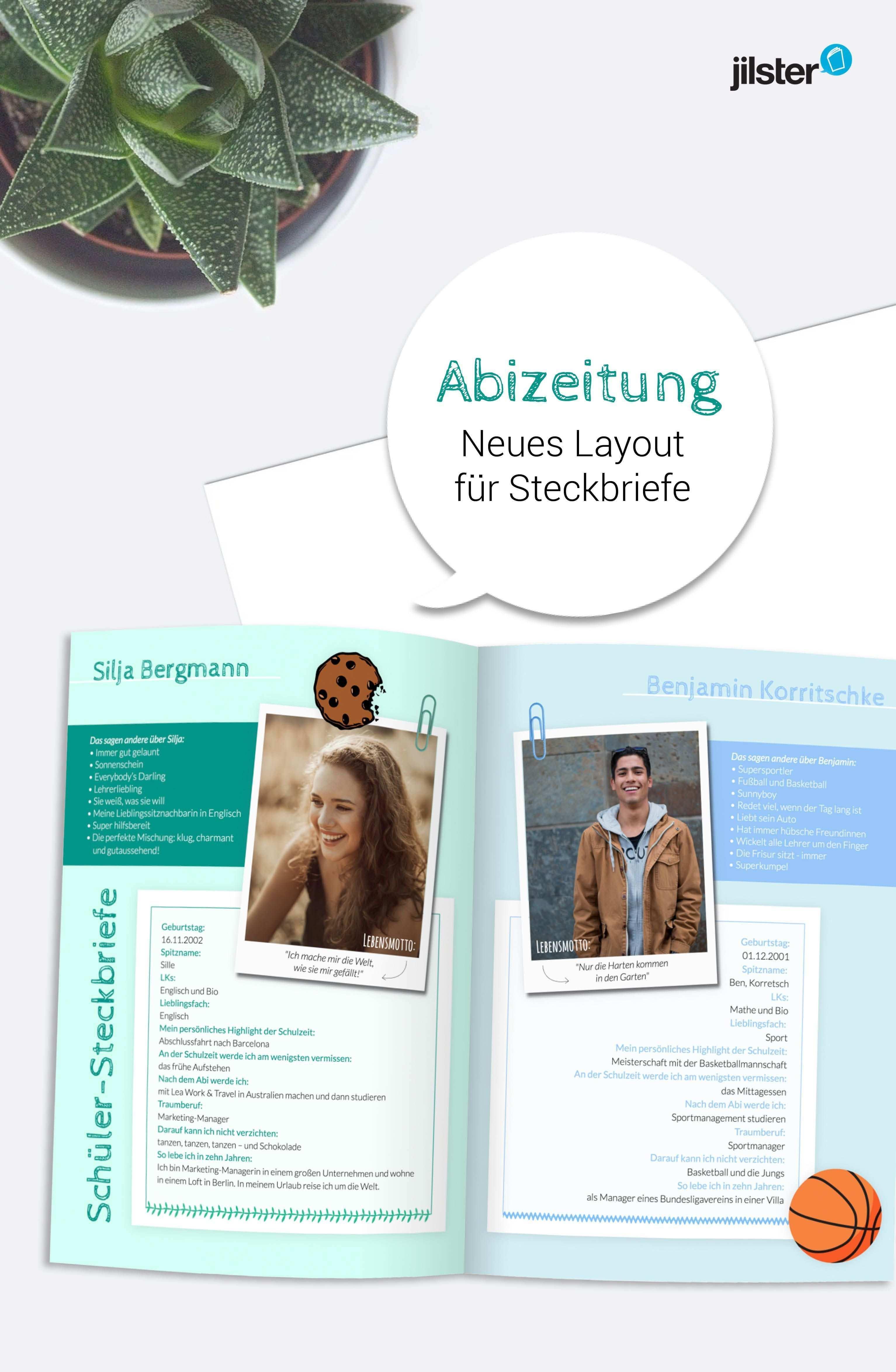 Abizeitung Steckbriefe Wollen Alle Lesen Jilster Blog Abizeitung Zeitung Steckbrief