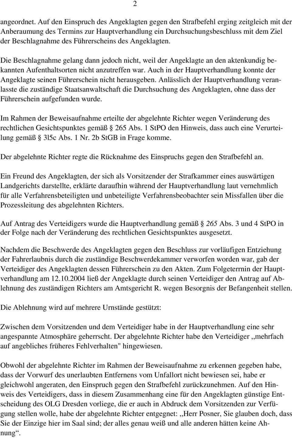B E S C H L U S S Vom Erlasst Das Amtsgericht Strafgericht Plauen Durch Direktor Des Amtsgerichts Klein Den Beschluss Pdf Free Download