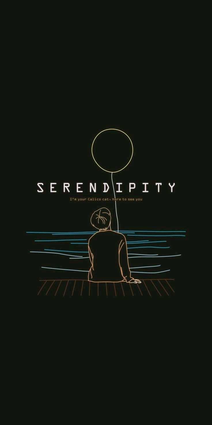 Jimin Serendipity Bts Wallpaper Pola Doodle Gambar Ilustrasi