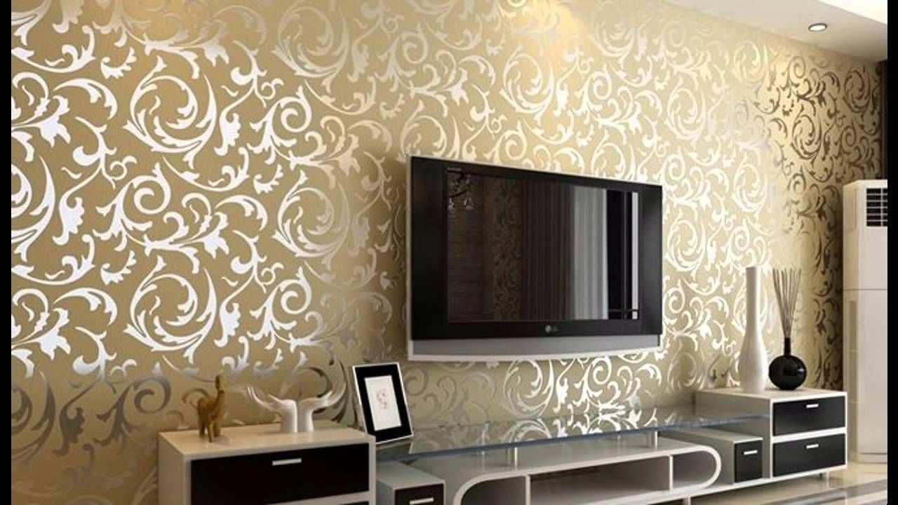 Memilih Desain Wallpaper Dinding Ruang Tamu Desain Kamar Dekorasi Ruang Tamu Ide Dekorasi Rumah