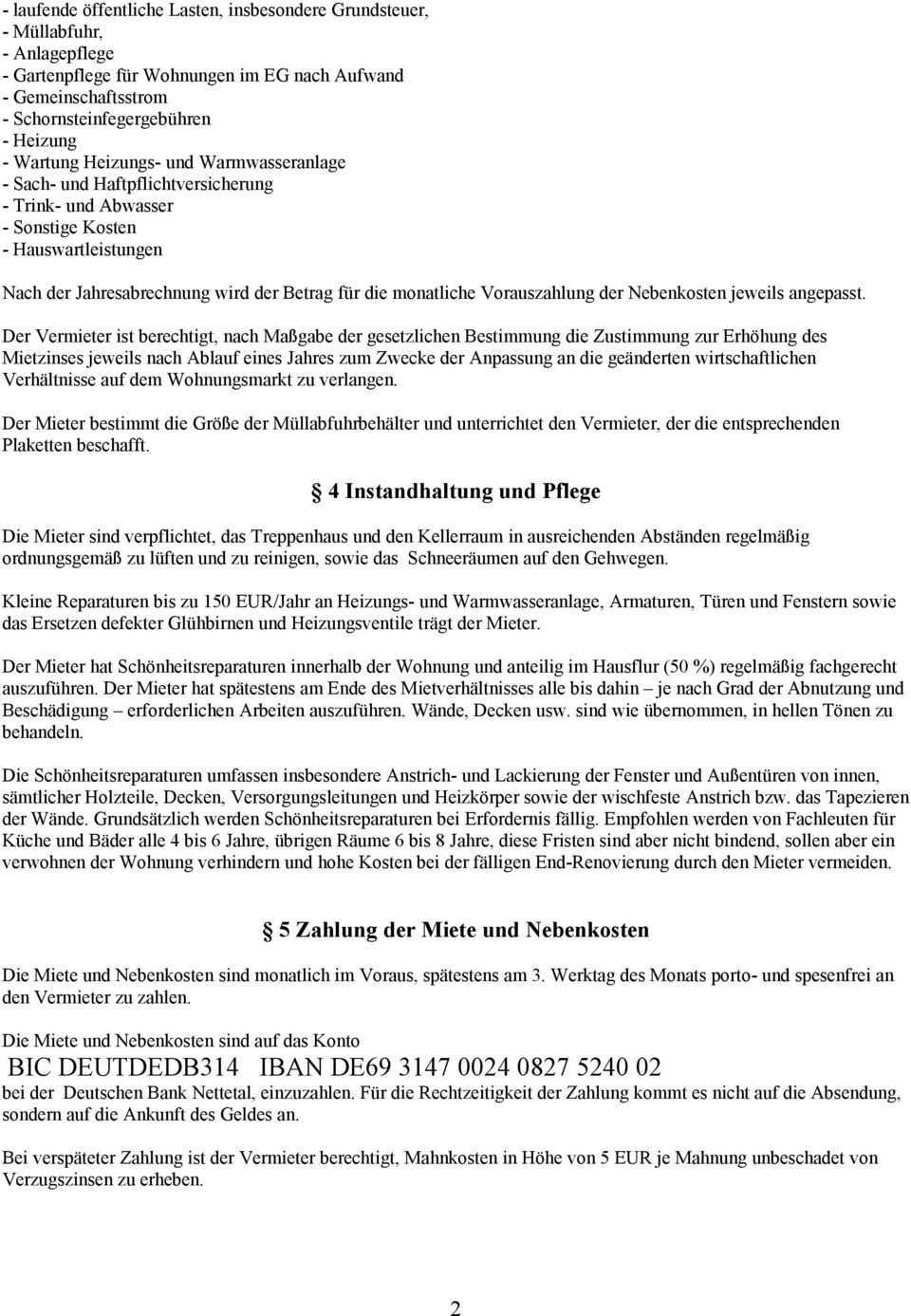 Muster Mietvertrag Zwischen Burg Ingenhoven Service Gmbh Burgstr 10 Nettetal Vertreten Durch Deren Geschaftsfuhrer Thomas Rosenwasser Und Pdf Free Download