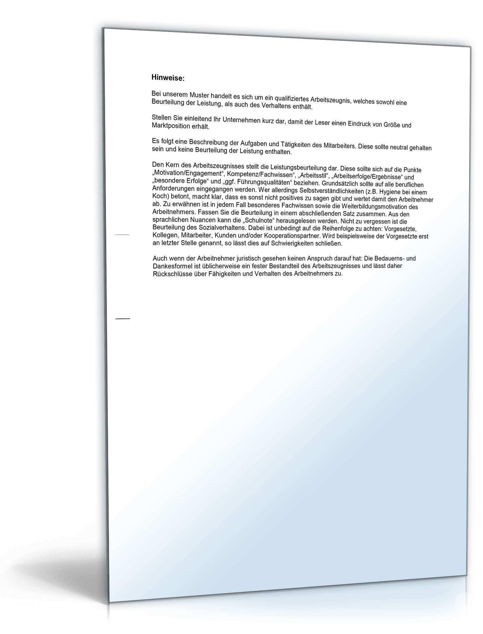 Arbeitszeugnis Schweisser Rechtssichere Muster Zum Download