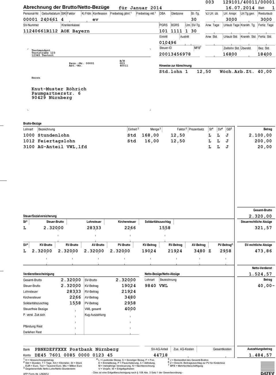 Musterauswertungen Lohn Und Gehalt Classic Comfort Compact Pdf Free Download