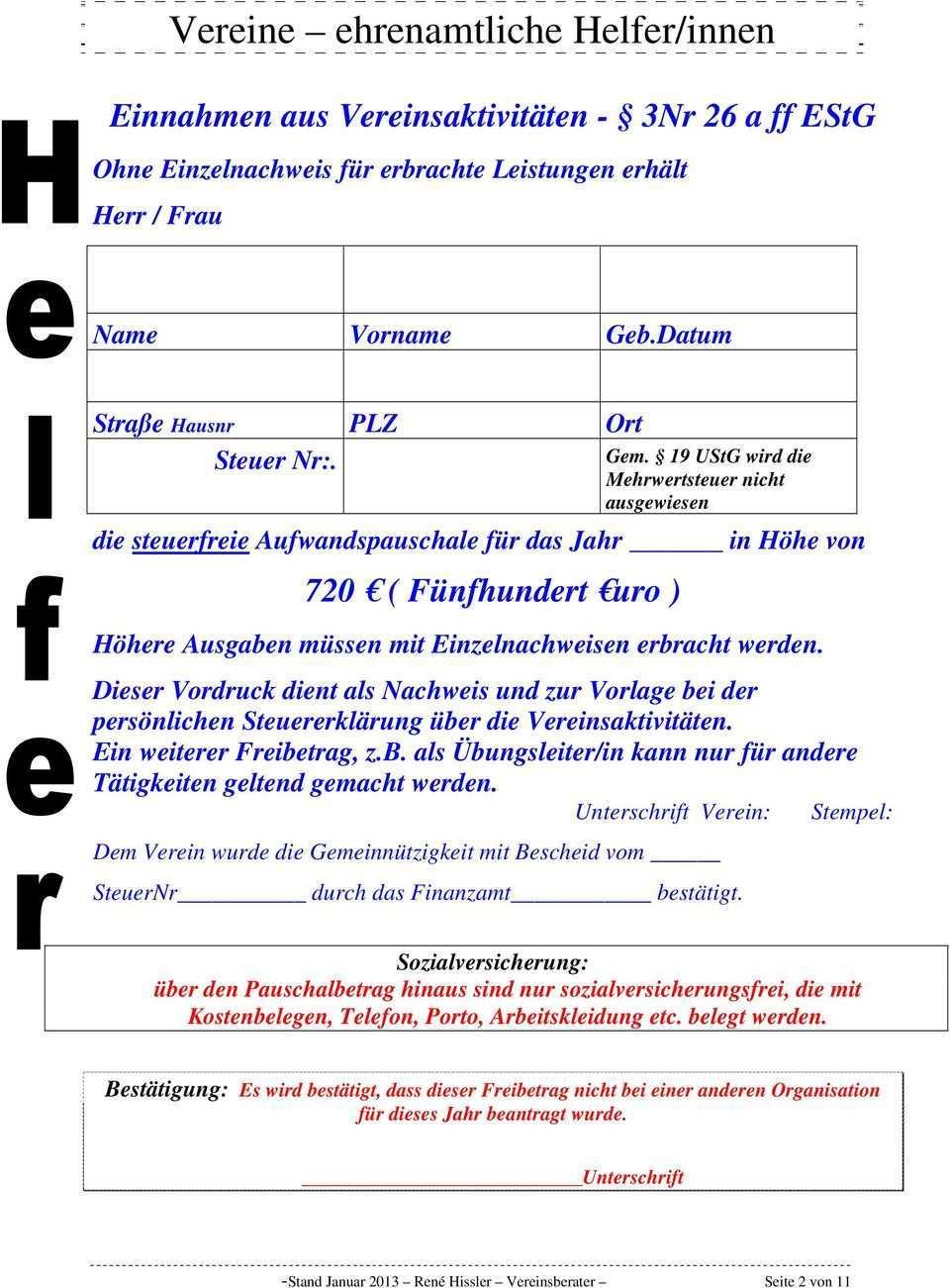Vereine Ehrenamtliche Helfer Innen Pdf Free Download