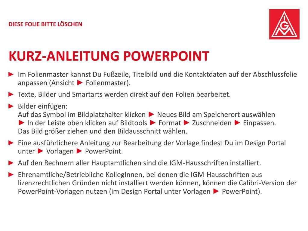 Kurz Anleitung Powerpoint Ppt Herunterladen