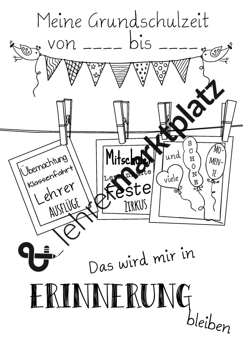 Klassenzeitung Erinnerungen An Die Grundschulzeit Lehreralltag Grundschule Erste Klasse Klassenfahrt