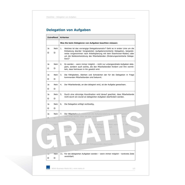 Checkliste Absichtserklarung Letter Of Intent