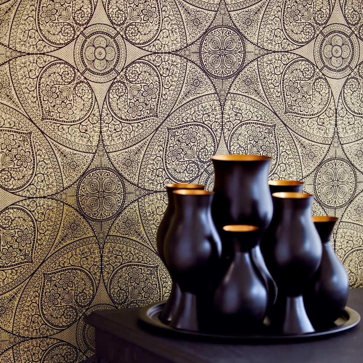 Pin Von Petite Fleur Auf Wandgestaltung Tapeten Orientalische Tapete Und Ornament Tapete