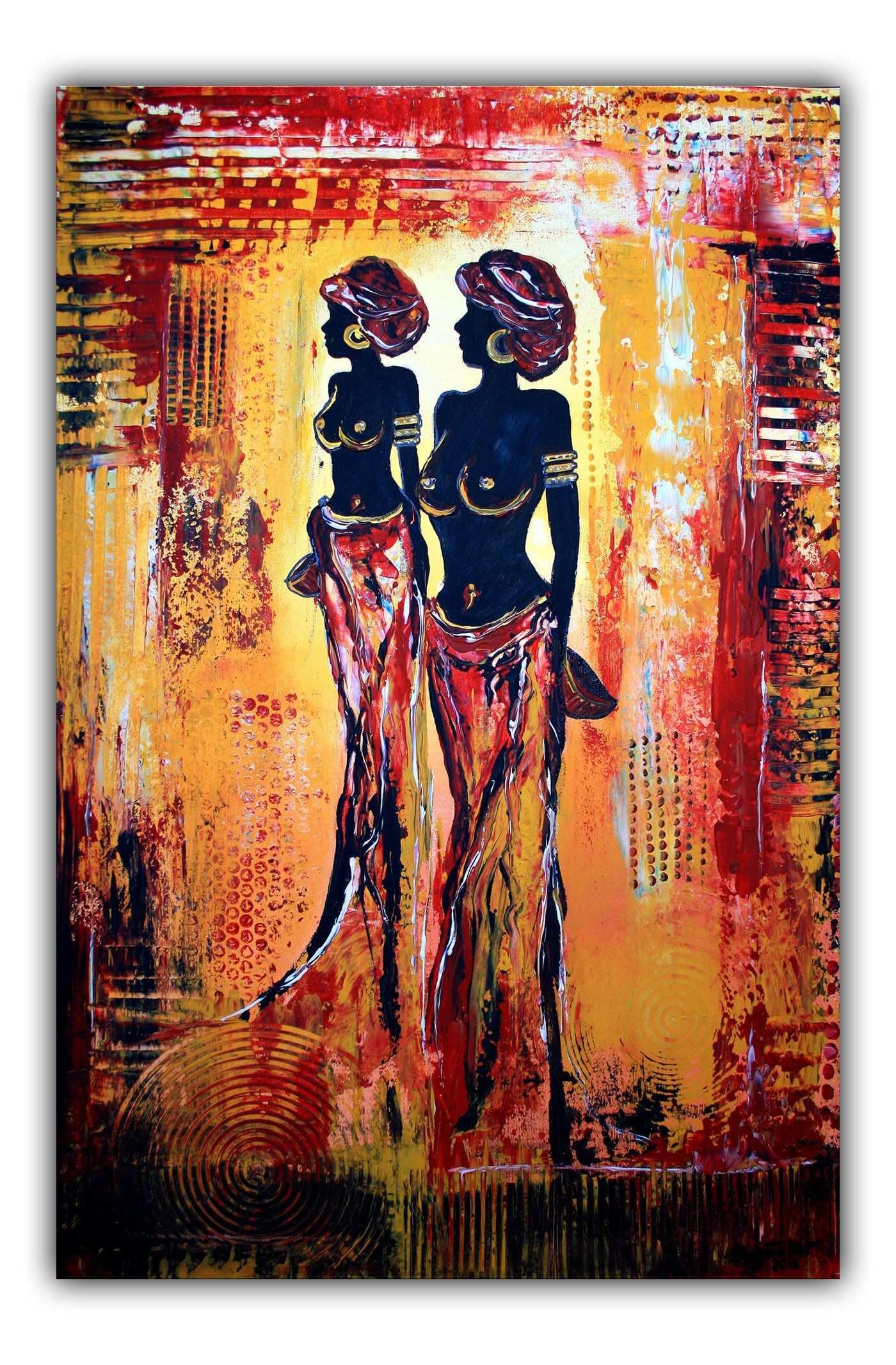 Moderne Kunst Abstrakte Malerei Bilder Gemalde Acrylbilder Afrikanische Gemalde Malerei Abstrakte Malerei