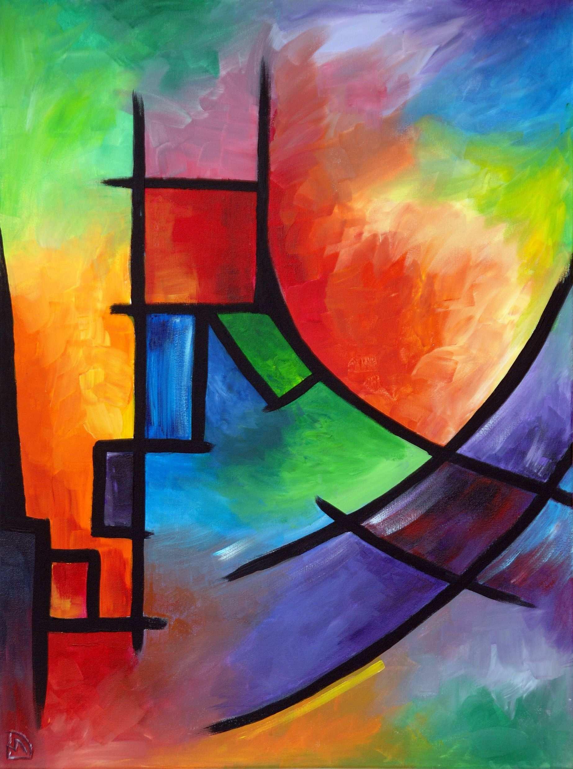 David Campbell 60 80 3 Acrylmalerei Abstrakt Abstrakte Malerei Malerei