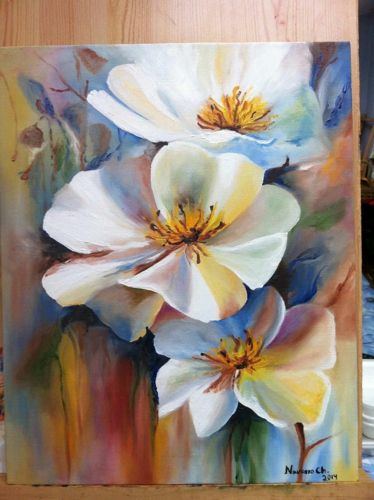 Next Painting Acrylmalerei Blumen Blumen Malen Acryl Acrylmalerei