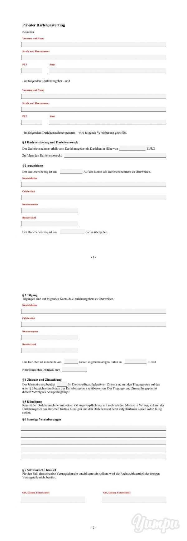 Privater Darlehensvertrag Normarq De Magazine With 3 Pages Privater Darlehensvertrag Normarq De Vertrag Schuldschein Bankleitzahl