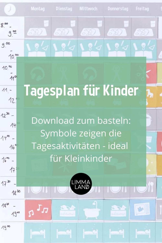 Wochenplan Fur Kinder Basteln Download Plus Tipps Zur Beschaftigung Tagesplane Fur Kinder Wochenplan Zum Ausdrucken Tagesplan Vorlagen