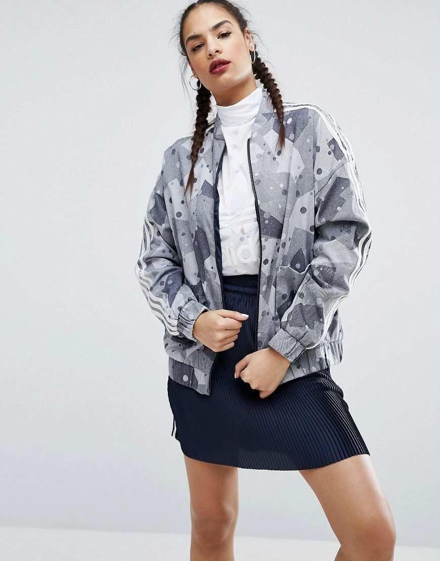 Adidas Originals Regista Bomberjacke Mit Military Muster Mehrfarbig Jetzt Bestellen Unter Https Mode Ladend Bomberjacke Damen Jacken Frauen Bekleidung