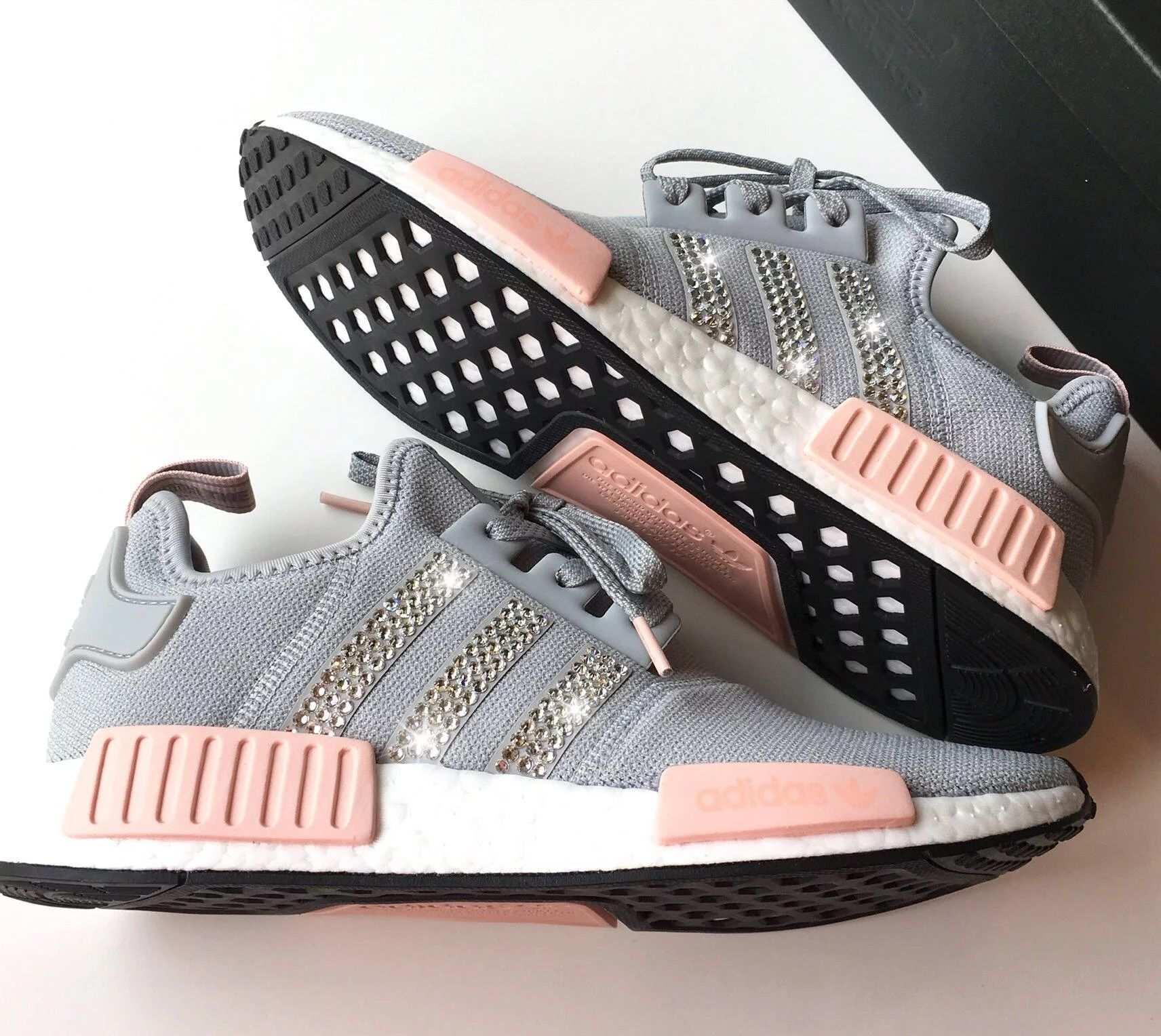 Adidas Nmd Custom Sneaker Adidas Nmd Pink Adidas Shoes Women Cheap Adidas Nmd