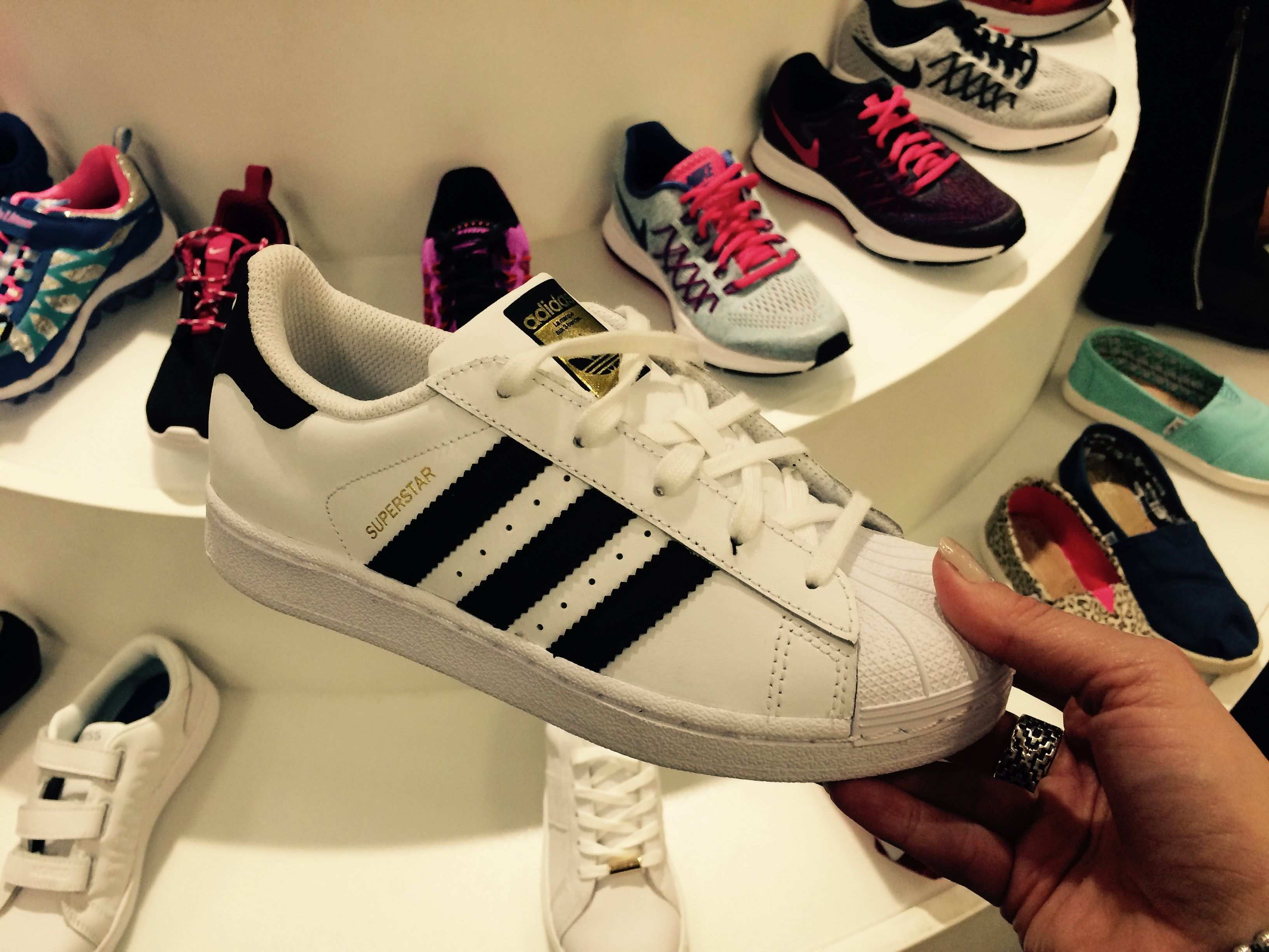 Adidas Superstar Muster Damen