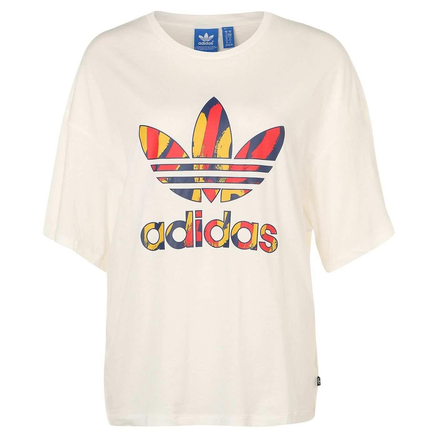 Adidas Originals Paris Trefoil Logo T Shirt Damen Otto Shirts Adidas Originals T Shirt Damen