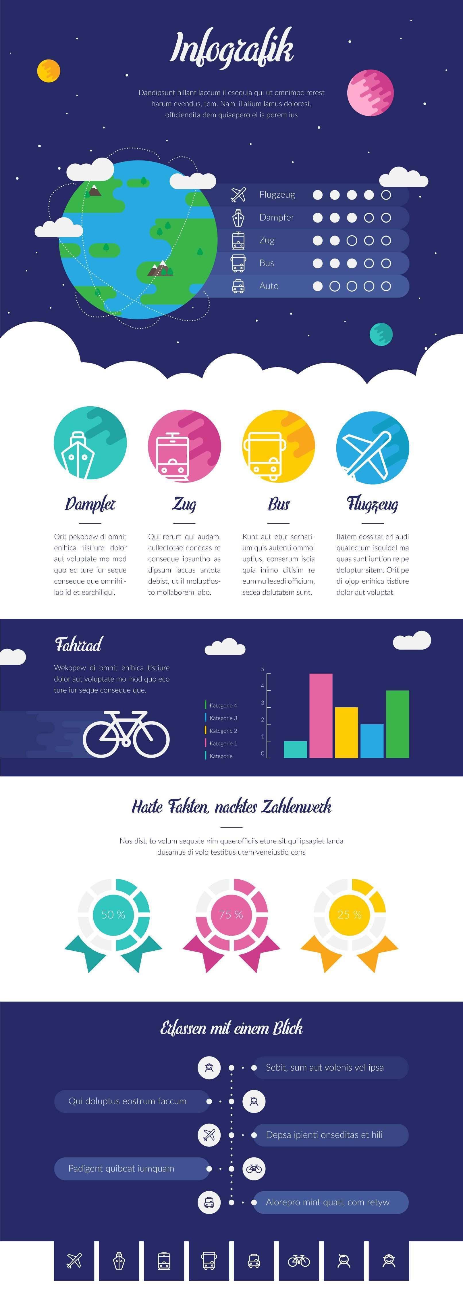 Design Vorlagen Fur Infografiken Infografik Infografik Erstellen Grafik