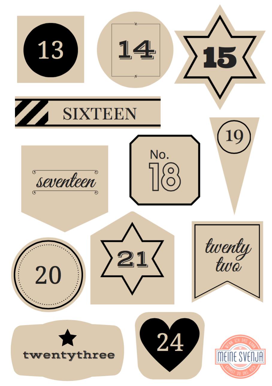 Adventskalender Zahlen Zum Ausdrucken Adventskalender Zahlen Zum Ausdrucken Adventkalender Adventskalender