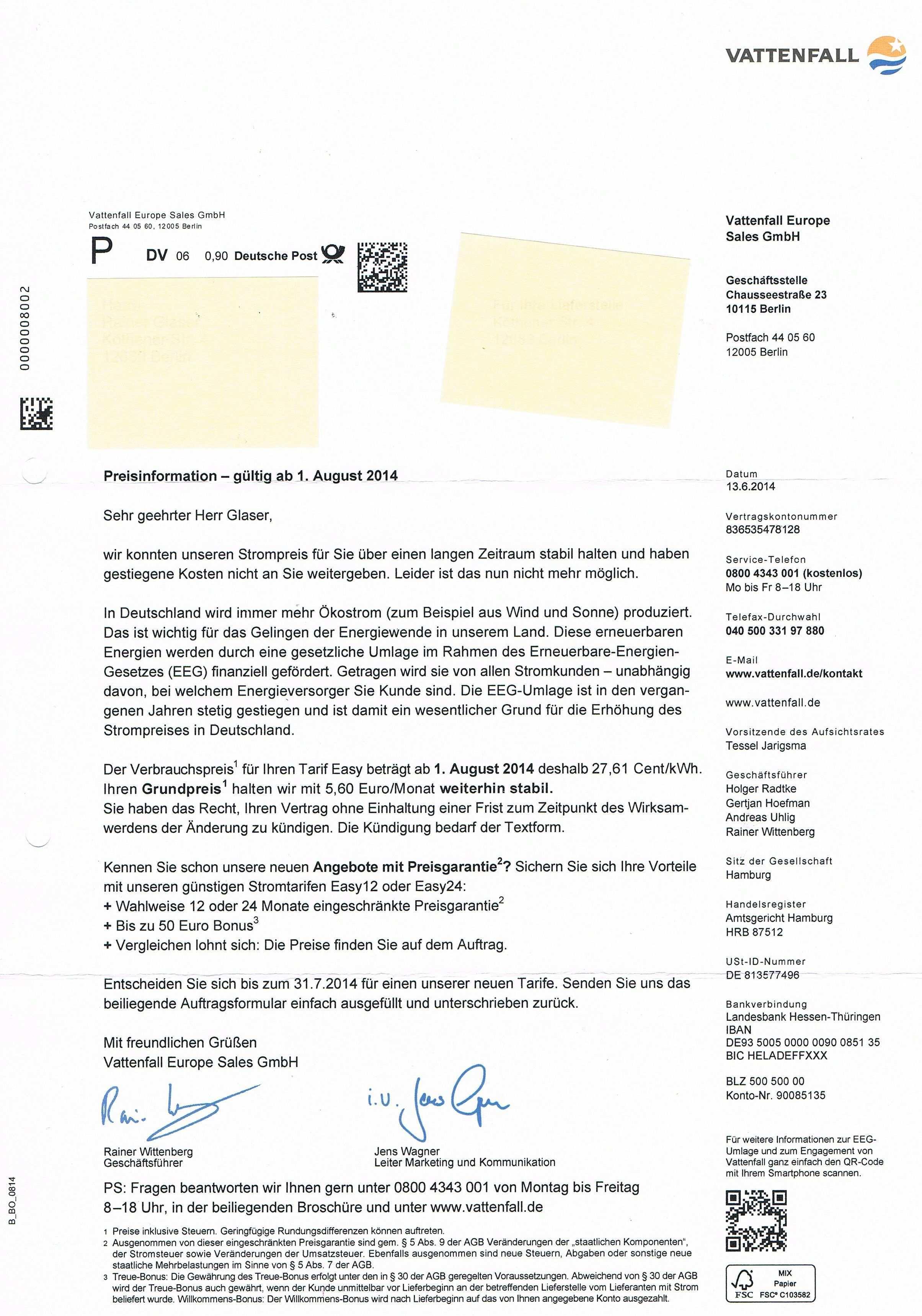 Einzigartig Anschreiben Preiserhohung Stundenlohn Briefprobe Briefformat Briefvorlage Anschreiben Briefvorlagen Stundenlohn